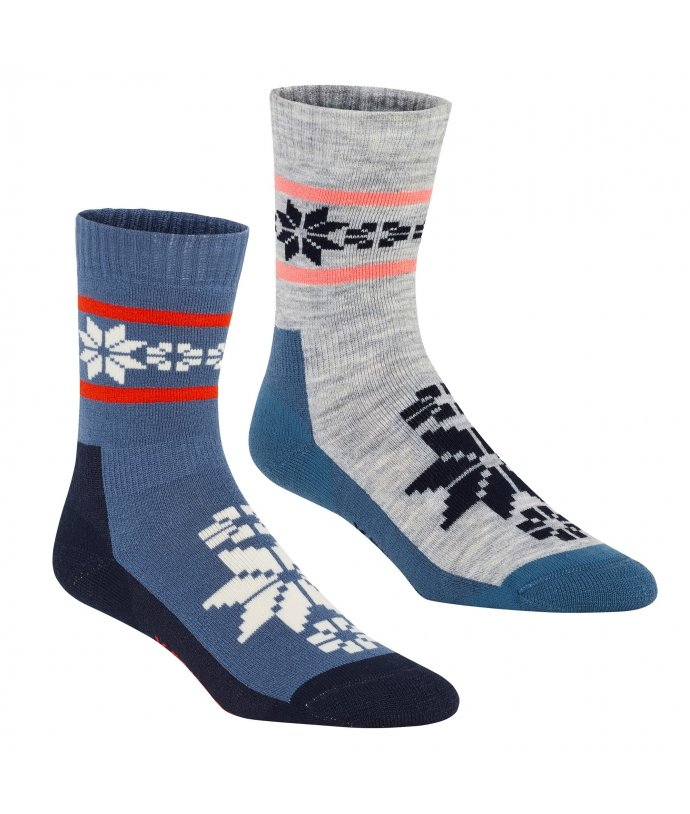 Dámské vlněné ponožky Kari Traa Rusa Sock 2Pk