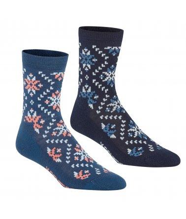 Dámské vlněné ponožky Kari Traa Tirill Sock 2Pk