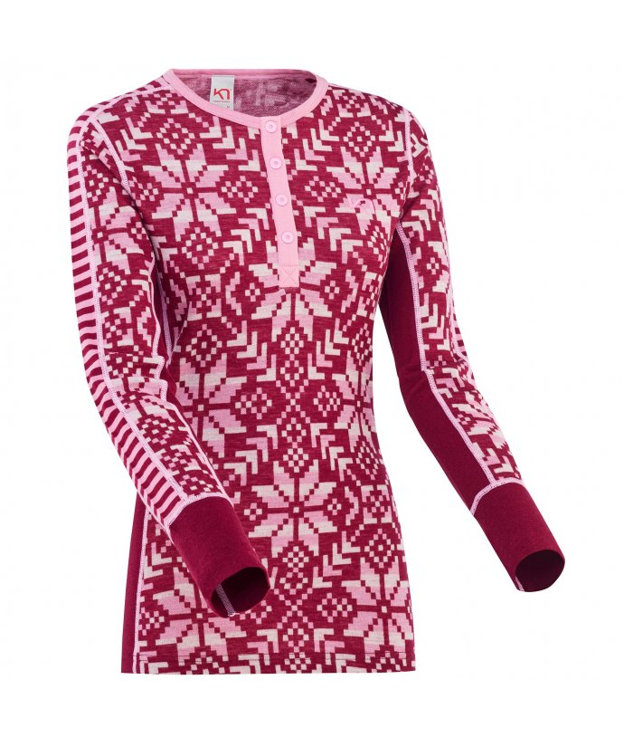 Dámské Merino triko s dlouhým rukávem Kari Traa Else LS