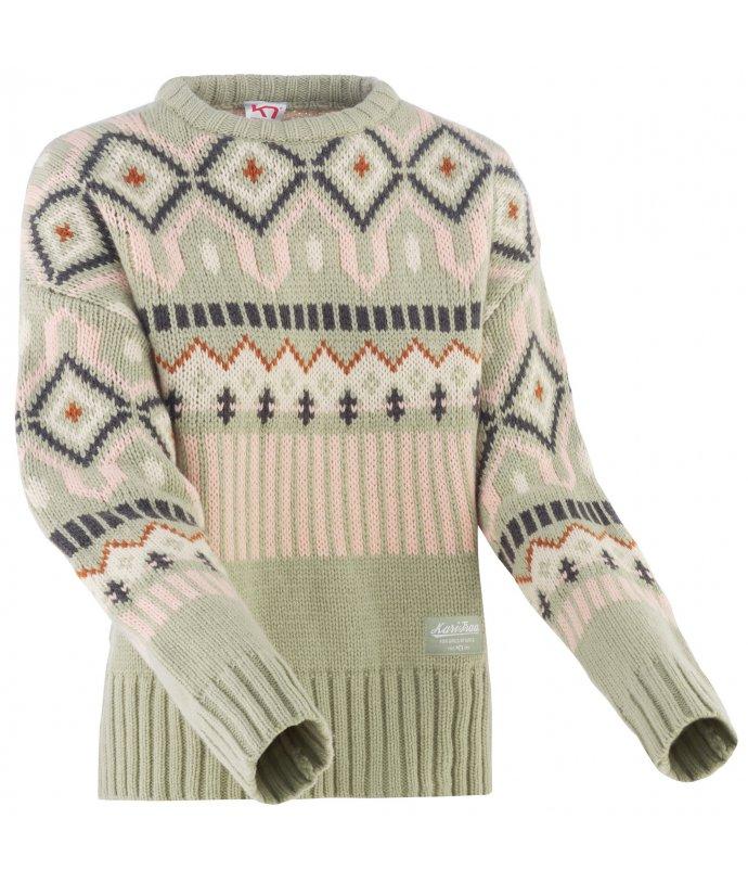 Dámský vlněný svetr Kari Traa Molster Knit
